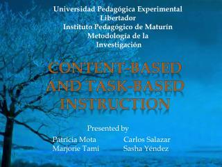 Universidad  Pedagógica  Experimental  Libertador Instituto Pedagógico  de  Maturín Metodología  de la Investigación