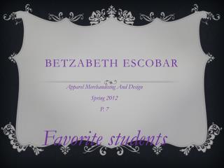 Betzabeth Escobar
