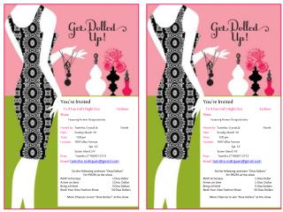 You're Invited   To A Fun Girl's Night Out Fashion Show Featuring Premier Designs Jewelry Hosted by:   Tamisha , Cryst