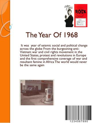 The Year Of 1968