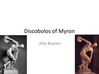 Discobolos of Myron