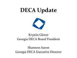 DECA Update