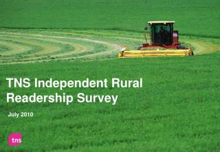 TNS Independent Rural Readership Survey