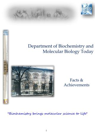 Department of Biochemistry and Molecular Biology Today
