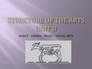 STRUCTURE OF THE ARTS  UNIT II