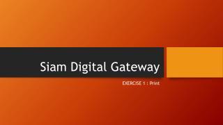 Siam Digital Gateway