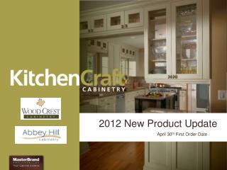 2012 New Product Update