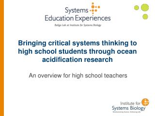 Bringing critical systems thinking to high school students through ocean acidification research