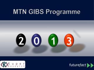 MTN GIBS  Programme