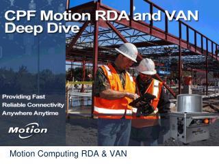 Motion Computing RDA & VAN
