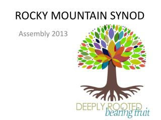 ROCKY MOUNTAIN SYNOD