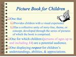 picture book for children