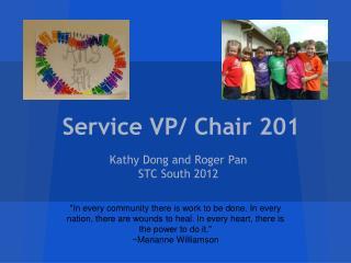 Service VP/ Chair 201
