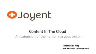 Content In The Cloud