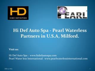 Hi Def Auto Spa a Pearl Partner