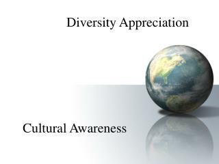 diversity appreciation