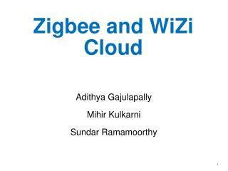 Zigbee  and  WiZi  Cloud