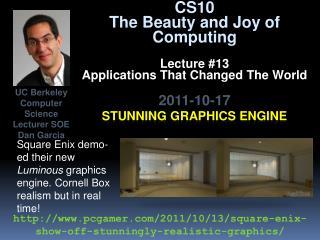 Stunning graphics engine