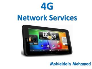 4G  Network Services
