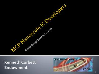 MCP  Nanoscale  IC Developers