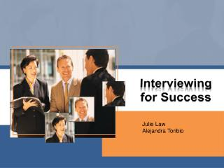 Interviewing for Success