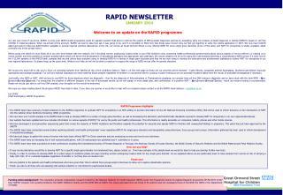 RAPID NEWSLETTER JANUARY 2014