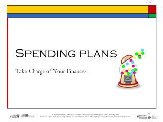 Spending plans