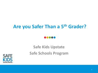 Are you Safer Than a 5 th  Grader?