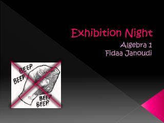 Exhibition Night