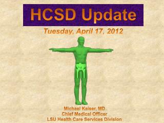 HCSD Update