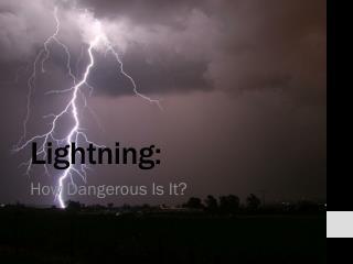 Lightning: