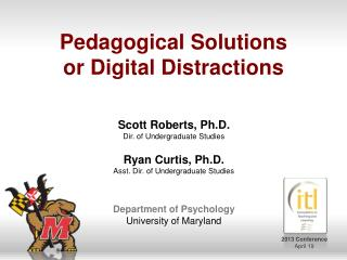 Pedagogical Solutions or Digital Distractions