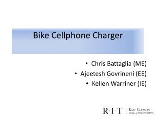 Bike Cellphone Charger