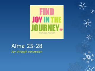 Alma 25-28