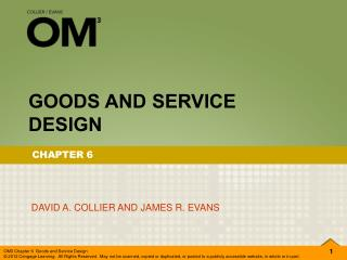 GOODS AND SERVICE DESIGN