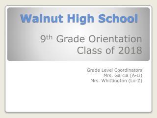 Walnut High School