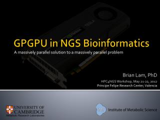 GPGPU in NGS Bioinformatics