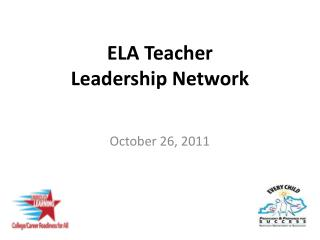 ELA Teacher  Leadership Network