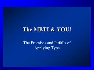 the mbti  you