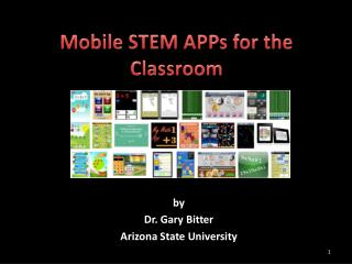 Mobile STEM APPs for the Classroom