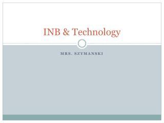 INB & Technology
