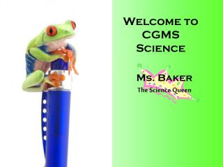 Welcome to CGMS Science