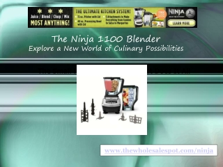 ninja 1100 kitchen system blender