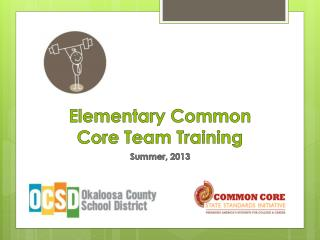 Elementary Common Core Team Training