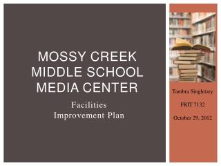 Mossy Creek Middle School Media Center