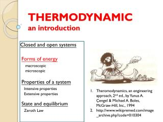 THERMODYNAMIC an introduction