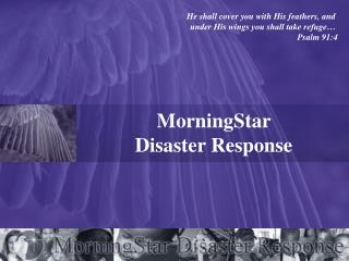 MorningStar  Disaster Response
