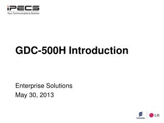 GDC-500H Introduction