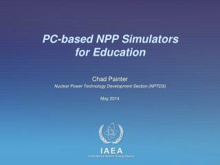 PC-based NPP Simulators  for Education