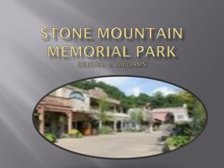 Stone Mountain Memorial Park Deedra   L. Williams